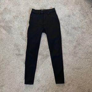 Blue Savvy Black Jeans